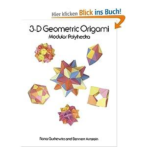 3 d geometric origami rona gurkewitz. Black Bedroom Furniture Sets. Home Design Ideas