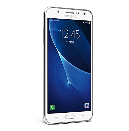 Samsung Galaxy J7 - No Contract Phone - White - Boost Mobile
