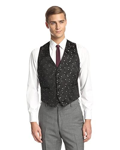 Valentino Men's Tonal Check Vest