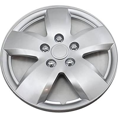 15 Inch Silver Hub Caps ABS Plastic Wheel Cover SET of 4