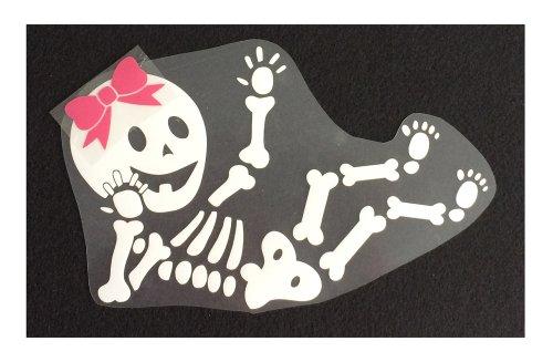 Baby Girl Skeleton Diy Iron-On front-87408