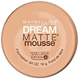 Maybelline Dream Matte Mousse Foundation, Honey Beige