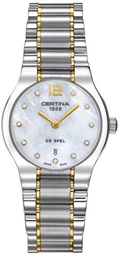 XS Analog Quartz Stainless Steel Ladies Wristwatch Certina C012 209.22.116.00.