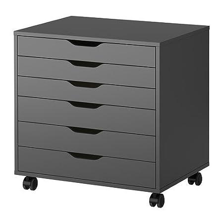 IKEA ALEX - unidad de cajón con ruedas - 67x66 cm