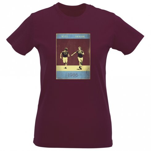 frank-mcavennie-tony-cottee-1986-vintage-poster-slim-fit-t-shirt-small-8-10-maroon