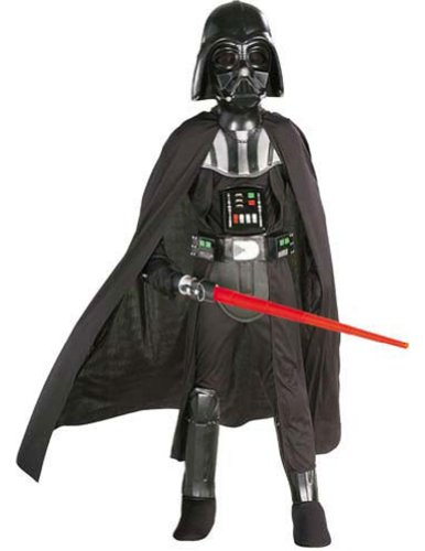Child Darth Vader Md Kids Boys Costume