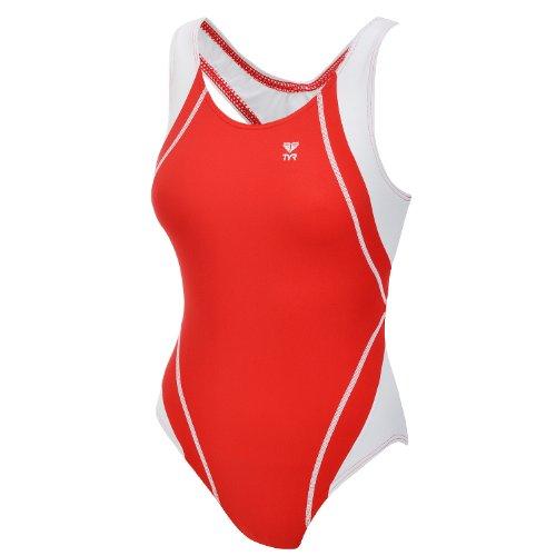 TYR Titan Splice - Damen Badeanzug - Rot - 44