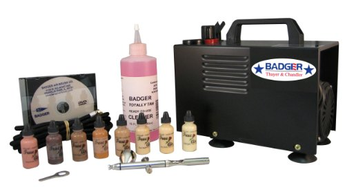 Badger Air-Brush Co.  314-BMWC Airbrush Cosmetic, Mortuary with Compressor