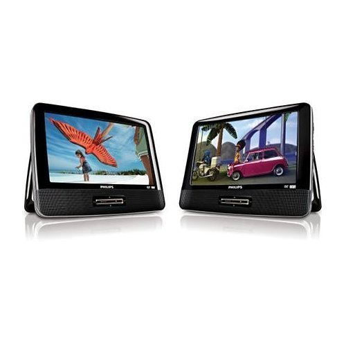 Philips PET9422 9-Inch Dual-Screen Portable DVD Player
