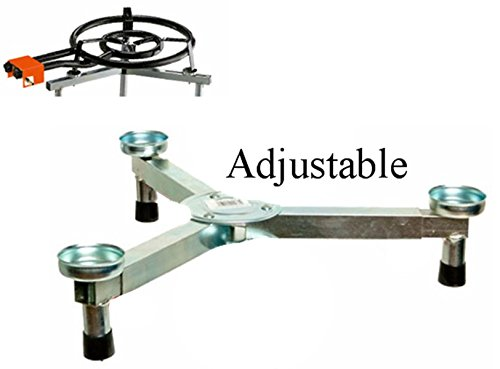 Paella Burner Stand. Adjustable to Burners Up To 27