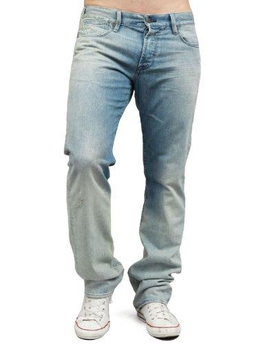 Japan Rags 910 Joshua Loose Blue Man Jeans Men - W38
