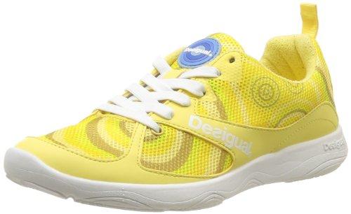 Desigual  Sneaker,  Scarpe sportive indoor donna Giallo Jaune (8018 Amarillo) 37