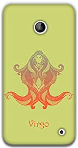 The Racoon Lean Virgo hard plastic printed back case / cover for Nokia Lumia 630