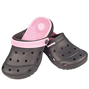 Therapeutic Air-Acu Clogs (Ladies Pink Large 9)