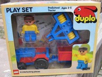 LEGO DUPLO Bauernhof 2629 Traktor