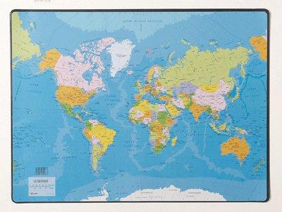 Carte Du Monde Plastifiee.Carte Du Monde Plastifiee Pas Cher