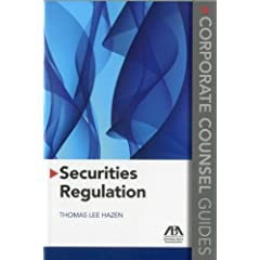 Securities Regulation (Corporate Counsel Guides)