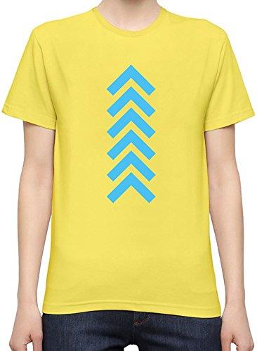 Arrow Up Slogan T-Shirt per Donne XX-Large