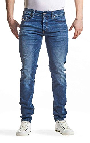 Diesel SLEENKER 0845S L.32 jeans blu denim