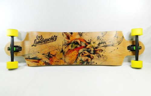 "Landyachtz 40"" X 10"" Switchblade 40 Downhill/Freeride Series Longboard Complete"