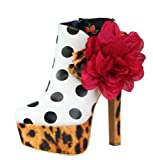 Iron Fist Lolita Love Platform Womens Shoes AW12 White