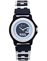 Cavalli White & Black Dial Bio Metal Strap Watch-For Women,Men
