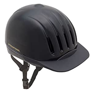 Ultra-Lite Equi-Lite Helmet with Dial-Fit-System, Black, Small