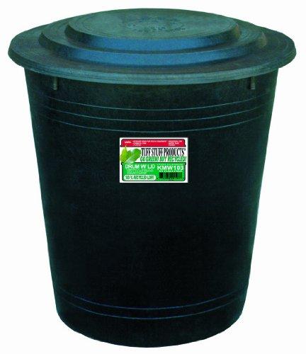 Tuff Stuff Products KMW103 Drum with Lid, 53-Gallon