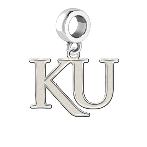 Kansas University Jayhawks Dangle Charm - 1/2