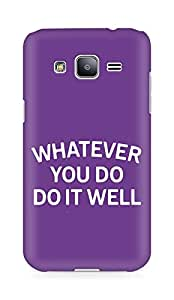 AMEZ whatever you do do it welly Back Cover For Samsung Galaxy J2