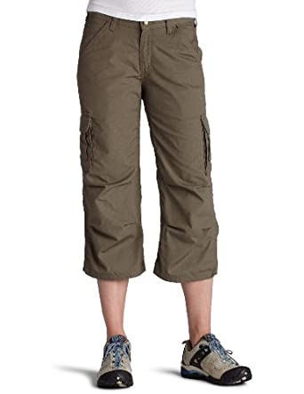 Perfect Norma Kamali  Women39s Cropped Cargo Pants Women  Walmartcom