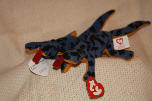 Lizz the Lizard Teenie Beanie Baby