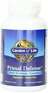 Garden Of Life Primal Defense Hso Probiotic Formula 180 Caplets Health Personal Care