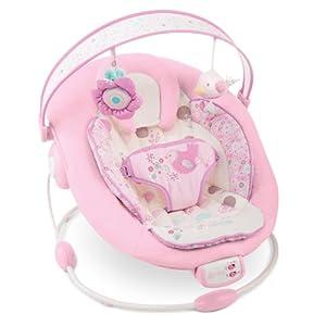 BRIGHT STARTS Babywippe mit Vibration Babybett, rosa
