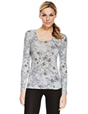 Heatgen™ Watercolour Floral Thermal Top
