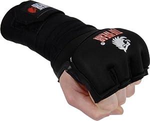 Tuf-Wear Gel Fist Wraps, BK, L