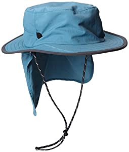 The North Face Unisex Adult Canyon Explorer Hat - Storm Blue/Vanadis Grey, One Size (Old Version)