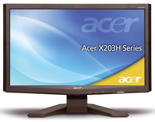 Ecran TFT 20'' wide X203HCbd (5 ms)  5ms, DVI, VGA