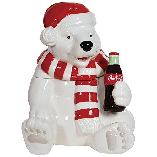 Ceramic Cookie Jar Holiday Bear