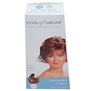 Tints Of Nature Hair Color Dark Toffee Blonde Caramel #6Tf