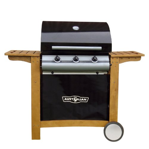 Australian 200 Series 3 Burner Roaster Gas BBQ