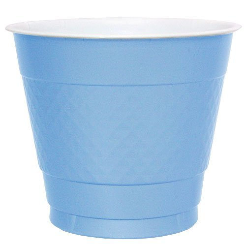 Hanna K. Signature Collection 50 Count Plastic Cup, 9-Ounce, Light Blue (Light Blue Party Cups compare prices)