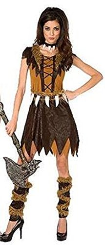 Cave Girl Cavegirl Adult Halloween Costume Womens S(4-6)