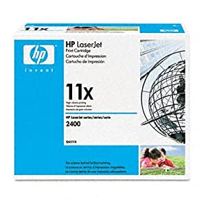 New Hp Q6511x Laser Printer Toner 12000 Page-Yield Black Sharp Text Professional Results