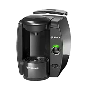 Bosch TAS1000UC Tassimo Single-Serve Coffee Brewer, Anthracite