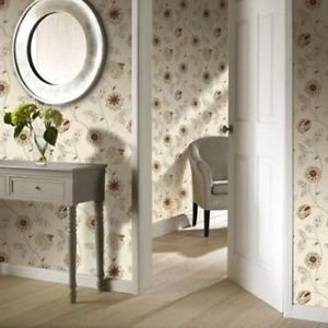 Gran Deco Jasmine Wallpaper - Red from New A-Brend