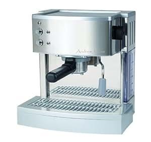 Andrew James Coffee Maker With Integrated Grinder : Andrew James Espresso & Cappuccino Coffee Maker Machine - 15 Bar Italian Pump - Stunning ...