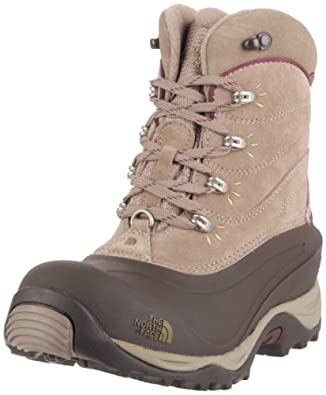 The North Face Women's Chilkat II Boots - Ganache Brown/Prussian Blue, UK 3