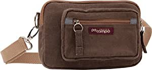 Po Campo Maxwell Hip Pouch Vegan Bag (Umber, 7.5 X 5 X 1.75-Inch)