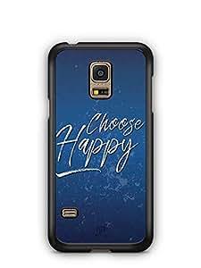 YuBingo Choose Happy Designer Mobile Case Back Cover for Samsung Galaxy S5 Mini